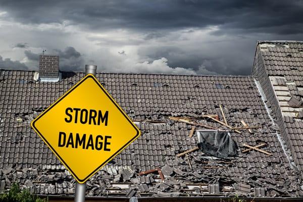 Hurricane Dorian roof damage