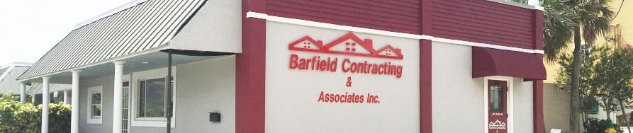 Barfield Roofing Office in Cocoa Florida